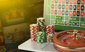 blackjack and roulette games